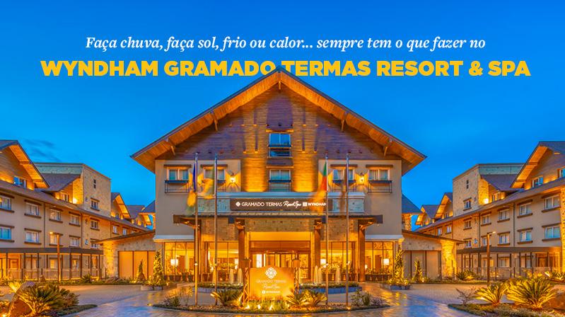 Faça chuva, faça sol, frio ou calor... sempre tem o que fazer no Wyndham Gramado Termas Resort & SPA